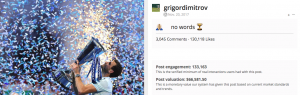 Grigor Dimitrov Nitto ATP Finals and Blinkfire