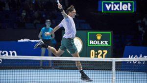 Roger Federer Nitto ATP Finals and Blinkfire