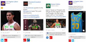 Warriors, Lakers, Celtics, Cavaliers Jersey Patch Sponsors