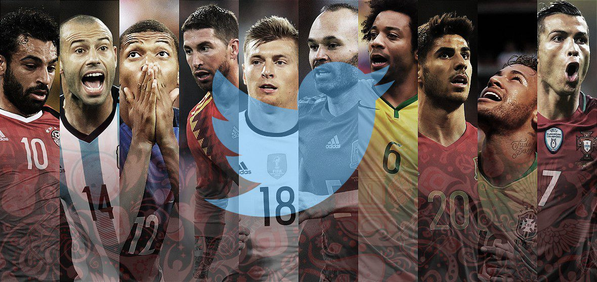 World Cup Starting XI: Twitter All-Stars