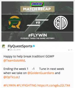 Fly Quest Match Recap
