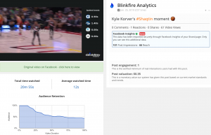 Blinkfire Analytics Audience Retention
