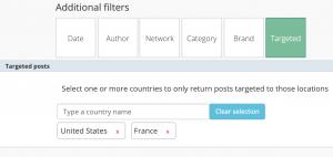 Blinkfire Analytics Targeted Posts