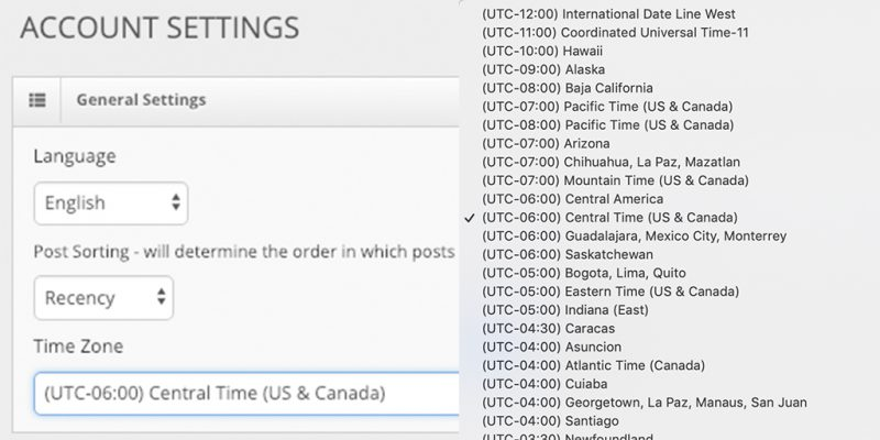 What's New at Blinkfire Analytics: Platform-Wide Customizable Time Zones