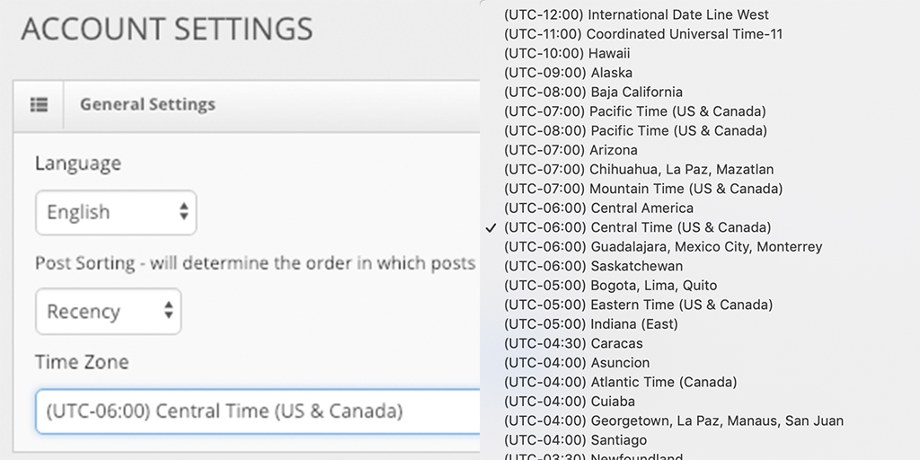 What's New In Blinkfire Analytics? Platform-Wide Customizable Time Zones