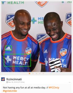 FC Cincinnati Blinkfire Analytics