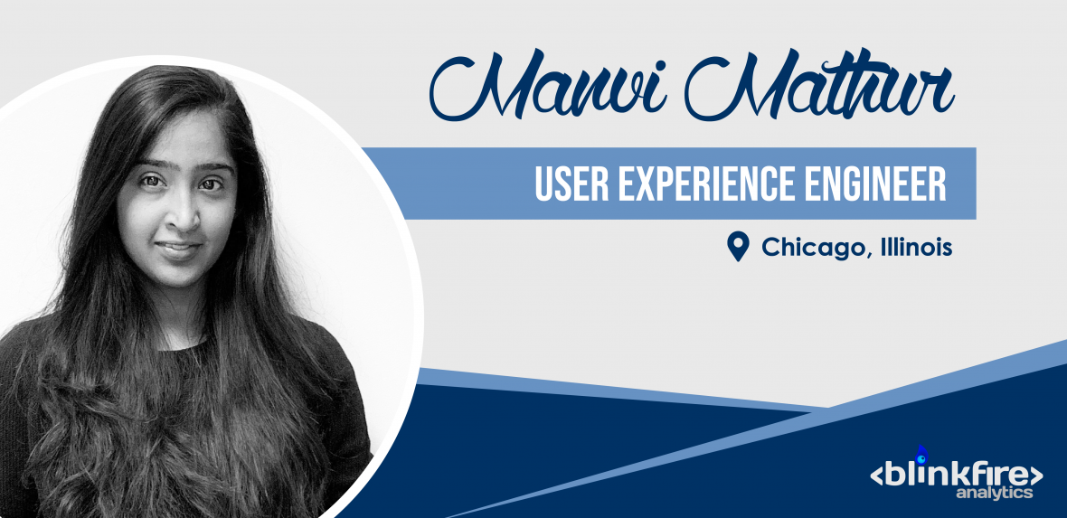 Meet the Team: Manvi Mathur