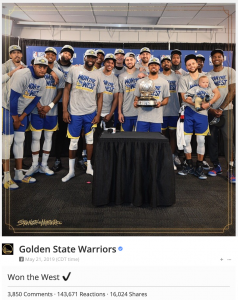Golden State Warriors Western Conference Champs