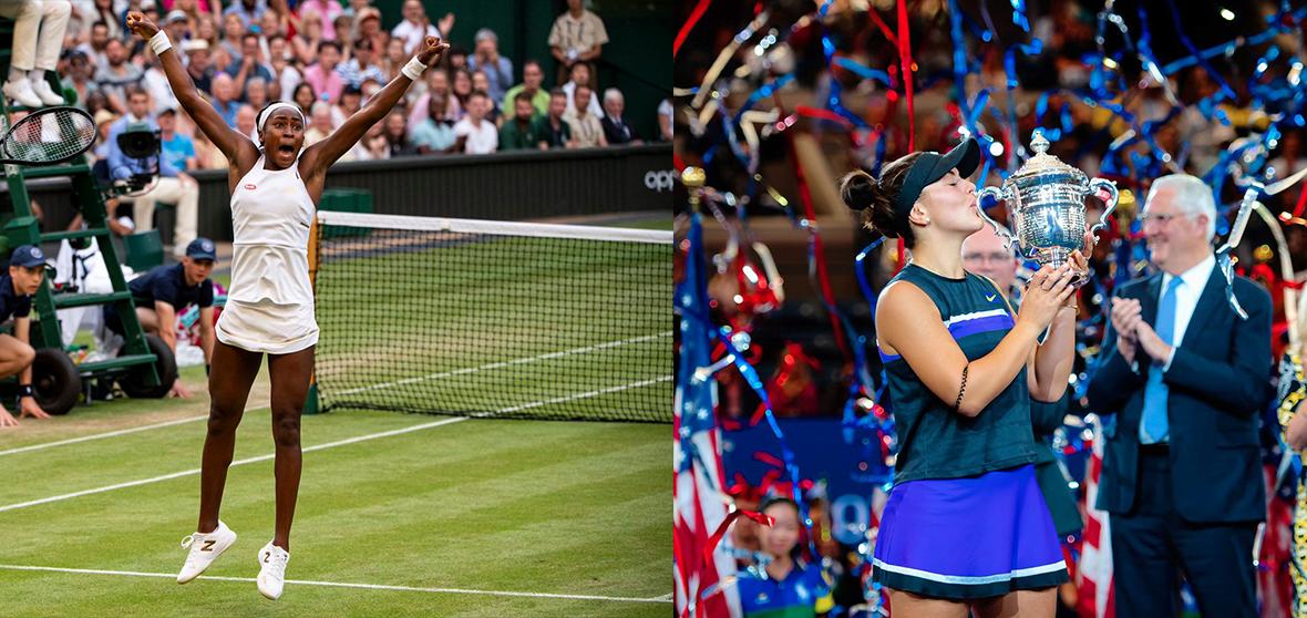 Tennis' Rising Stars: Coco Gauff & Bianca Andreescu