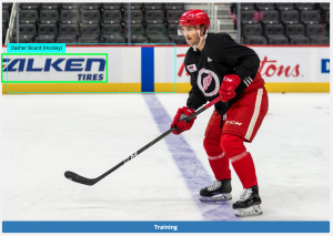 Detroit Red Wings Training