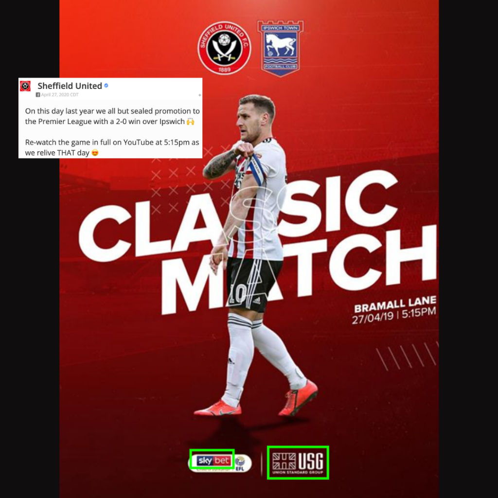 Sheffield United Classic Match