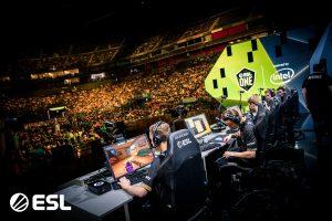 ESL Gaming tournament esports players