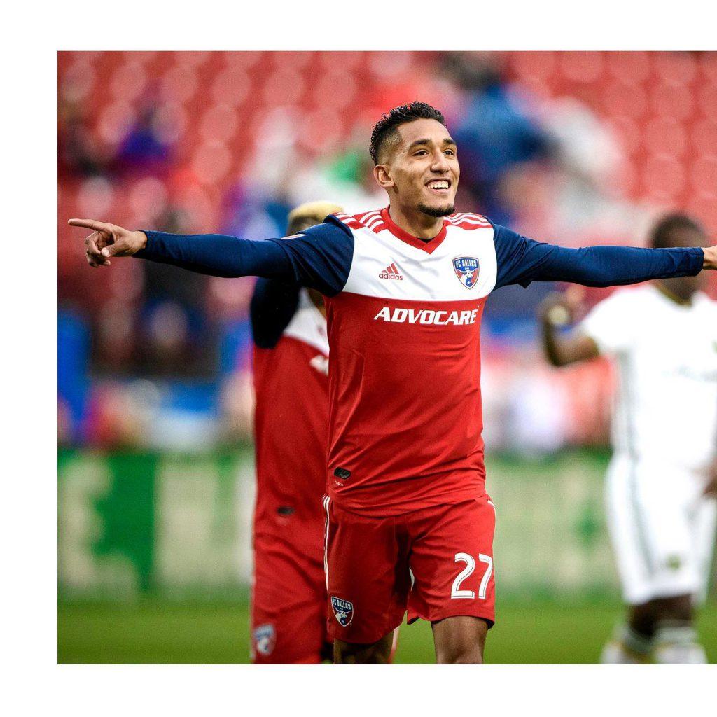 FC Dallas soccer player