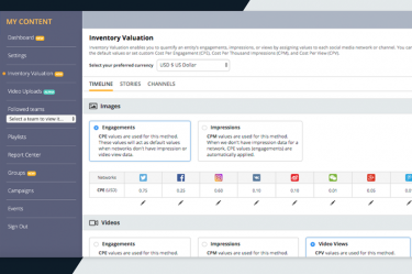 Blinkfire Analytics Inventory Valuation
