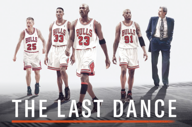 The Last Dance documentary - Kerr, Pippen, Jordan, Rodman, Jackson
