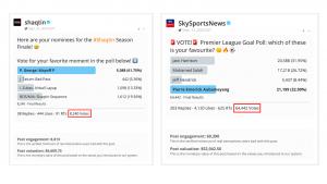 Twitter poll vote tweets
