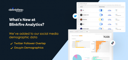 What's New at Blinkfire Analytics: Twitter Follower Overlap & Douyin Demographics