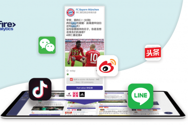 Asian social networks and apps logos