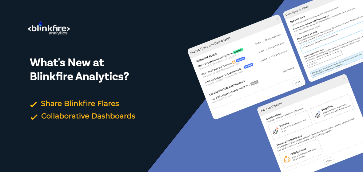 What's New at Blinkfire Analytics: Blinkfire Flares & Collaborative Dashboards