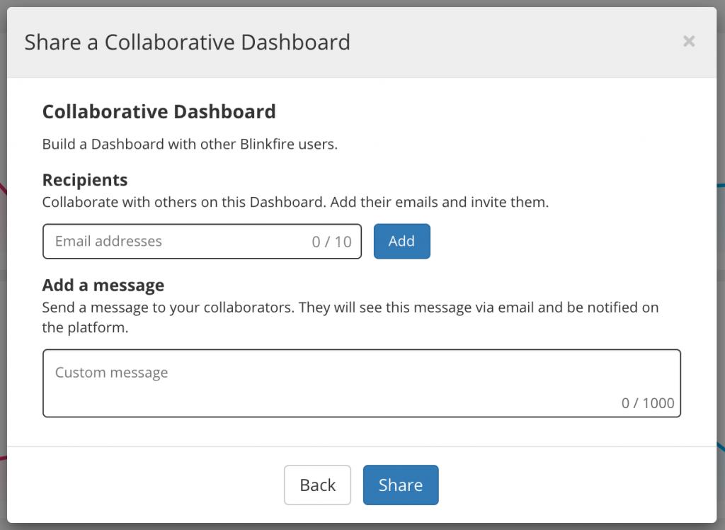 Blinkfire Analytics Collaborative Dashboard