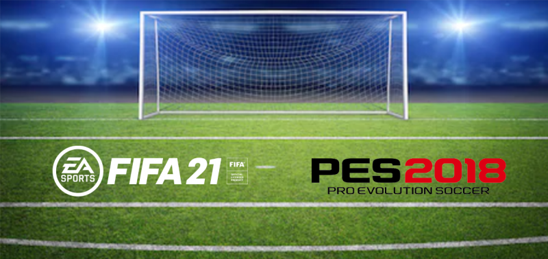 EA Sports FIFA vs Pro Evolution Soccer – Who scores the best goal on social media?