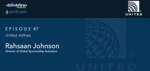 United Airlines Podcast Blinkfire Anlaytics