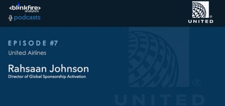 Blinkfire Analytics Podcast #7: United Airlines