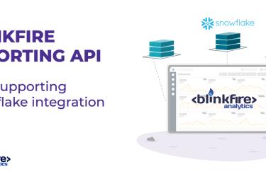 Blinkfire Reporting API integrates with Snowflake datawarehouse