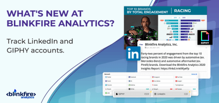 What's New at Blinkfire Analytics? LinkedIn & GIPHY Tracking