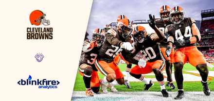 Blinkfire Analytics Partners with the Cleveland Browns for the 2021 NFL Season