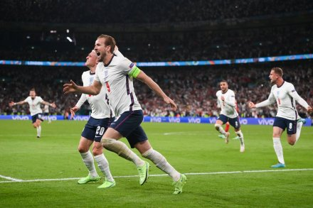 Euros 2020: England wins on Twitter
