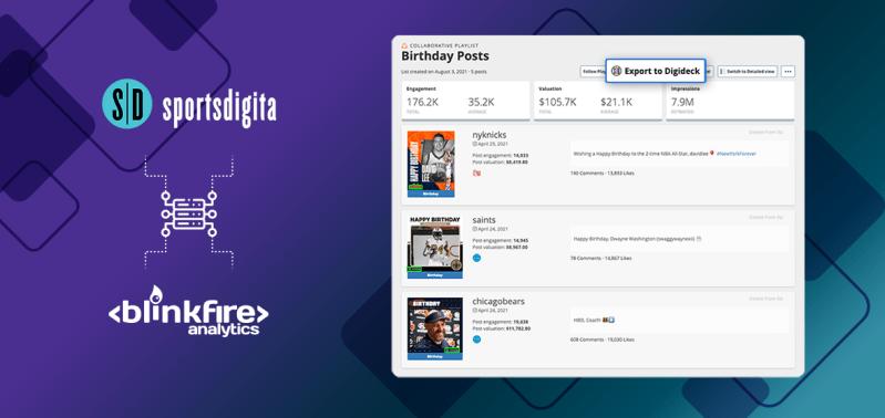 Blinkfire's Integration with Sportsdigita